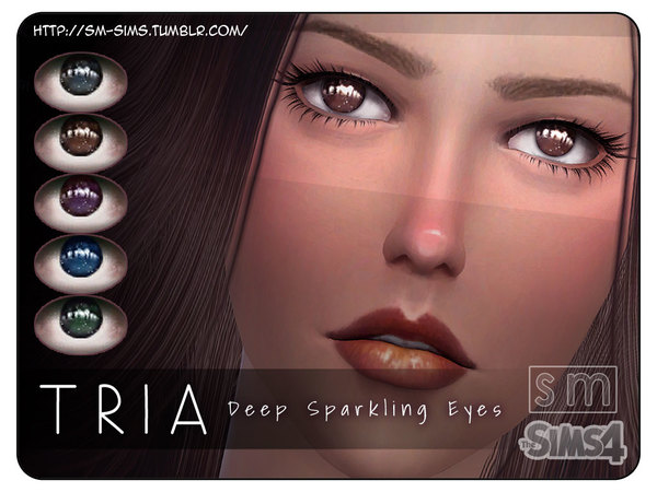The Sims Resource: Tria Deep Sparkling Eyes by Screaming Mustard