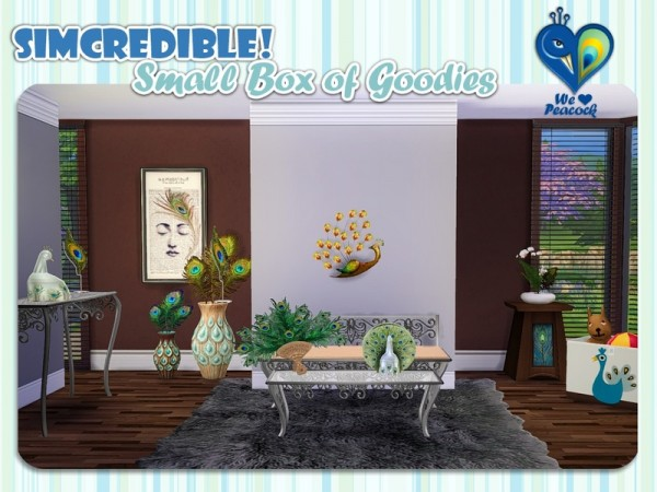 The Sims Resource: We love peacock box by SImcredible