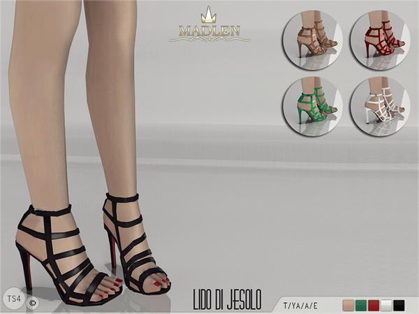 The Sims Resource: Madlen Lido di Jesolo Sandals  by MJ95