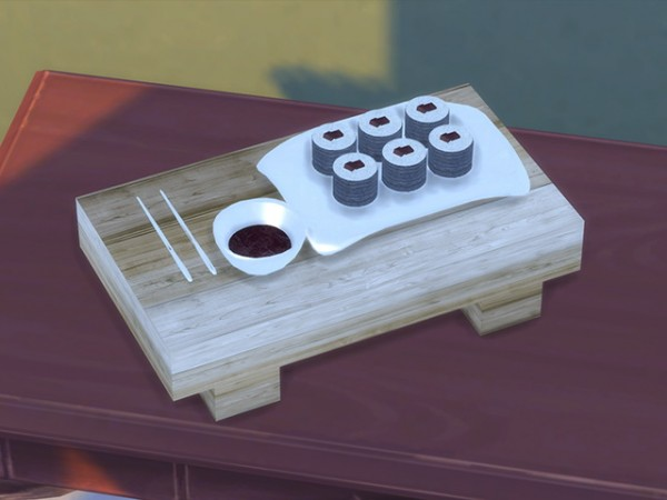 The Sims Resource Sushi Set By Kresten22 Sims 4 Downloads