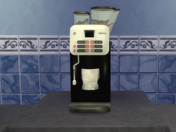 Sims Fans: Coffee Machine - Coffee Cup by Kresten22 Sims ...