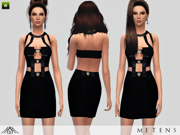 The Sims Resource: Tonight   Dress by Metens