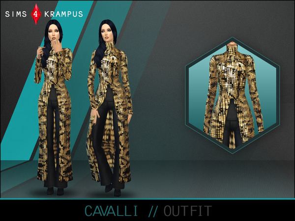 The Sims Resource: Outfit by SIms4Krampus