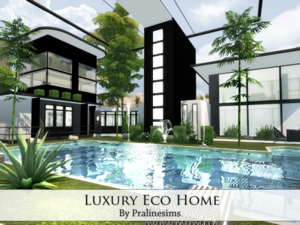 Modern Furniture Websites The Sims Resource: Luxury Eco Home by Praline Sims • Sims ...