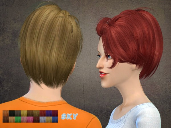 The Sims Resource: Skysims hair 121