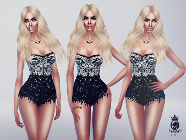 The Sims Resource: Stage Bodysuit by FashionRoyaltySims