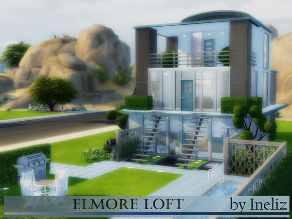 The Sims Resource: Elmore Loft by Ineliz