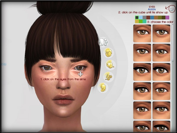 The Sims Resource: Eye Sets by Shojo Angel