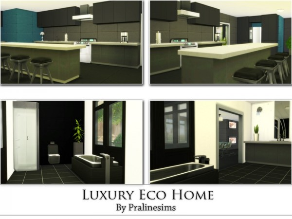 The Sims Resource Luxury Eco Home By Praline Sims Sims