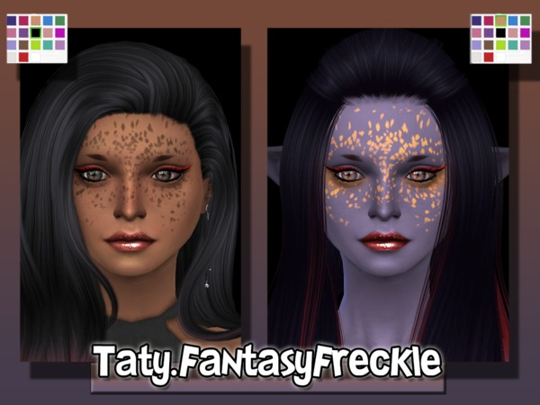 The Sims Resource: Fantasy Freckle by Taty