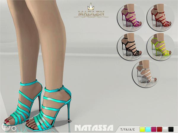 The Sims Resource: Madlen Natassa Sandals by MJ95