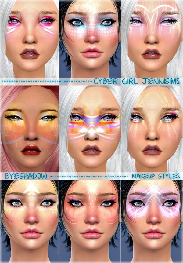 Jenni Sims: Styles Cyber Girl EyeShadow by Jennisims