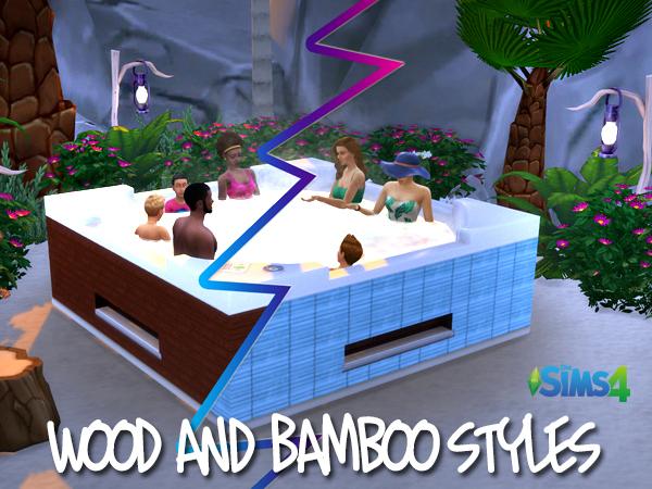 Akisima Sims Blog: Tropical Whirlpools