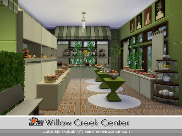 The Sims Resource: Willow Creek Center by Autaki