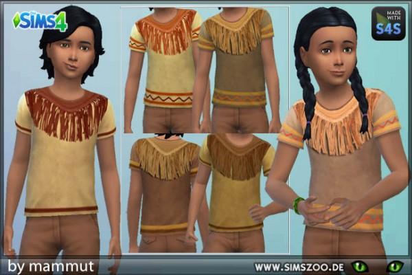 Blackys Sims 4 Zoo: Indian Shirt by mammut