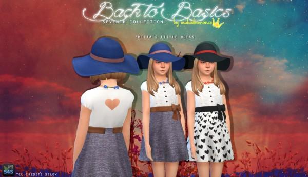 In a bad romance: Emilia's wardrobe and Ellie's Bonus Dress