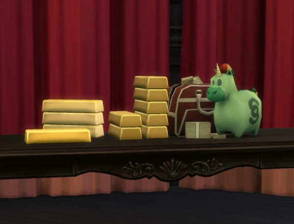 Mod The Sims: Stacks of Cash by plasticbox