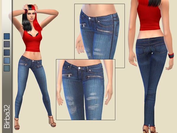 The Sims Resource: Jeggings set by Birba32