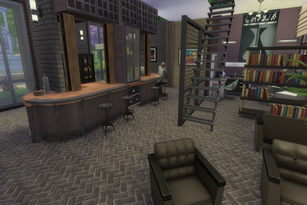 Blackys Sims 4 Zoo Industrie Loft By Madamechaos Sims 4