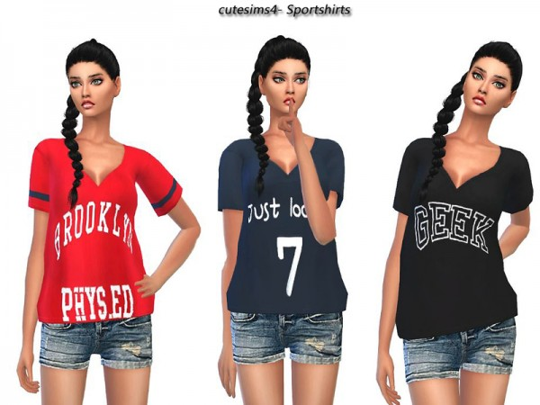 The Sims Resource: Casual Sporty Outfit by Sweetsims4