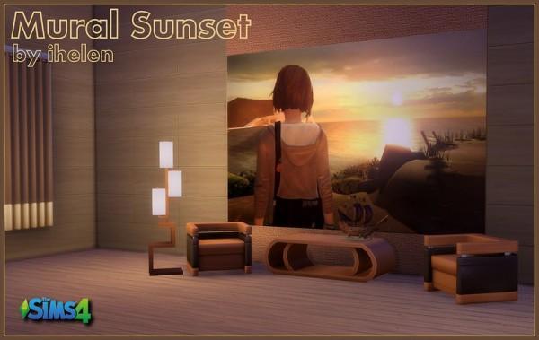 Ihelen Sims: Mural Sunset