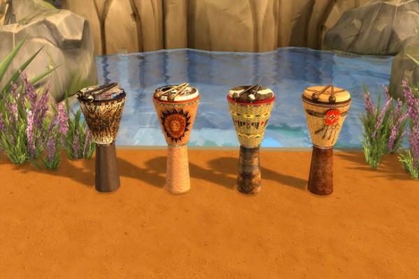 Blackys Sims 4 Zoo: Indian decor set by sylvia60