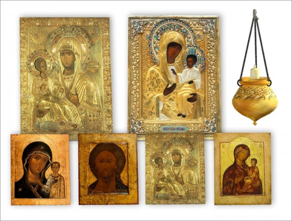 Sims by Severinka: Christian icons