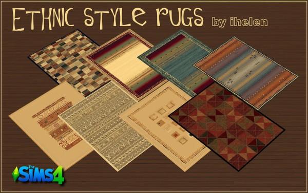 Ihelen Sims: Ethnic style rugs