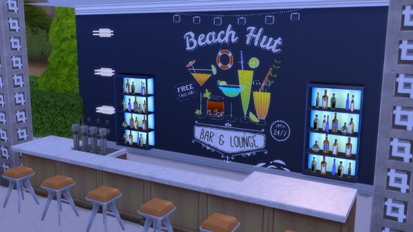 Ihelen Sims: Cocktail Stickers