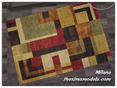The Sims Models: Carpets by Milana