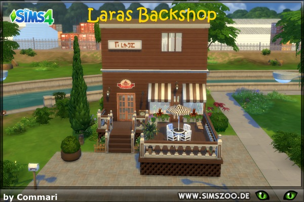 Blackys Sims 4 Zoo: Laras Backshop by Commari