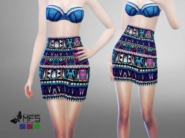 MissFortune Sims: Iridescent collection