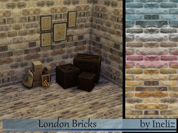 The Sims Resource: London Bricks by Ineliz