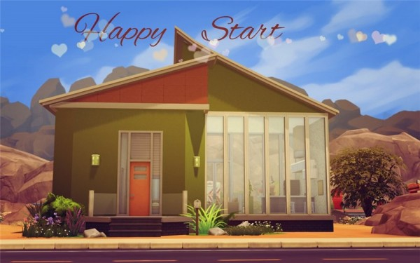 Ihelen Sims: Happy Start by Alalilla