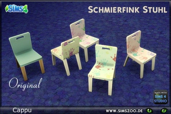Blackys Sims 4 Zoo: Hack chairs by Cappu