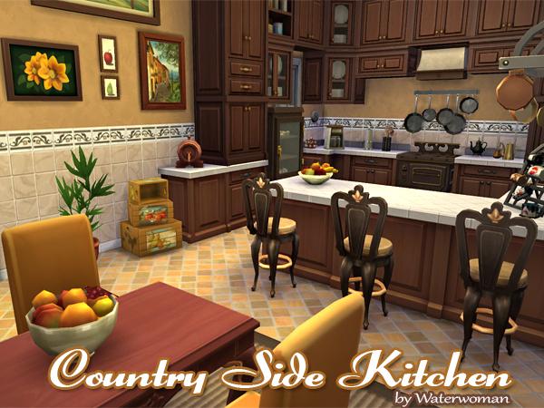 Akisima Sims Blog: Country Side Kitchen