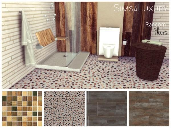 Sims4Luxury: Random tiles floors