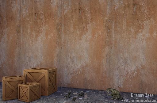 The Sims Models: Walls by Granny Zaza