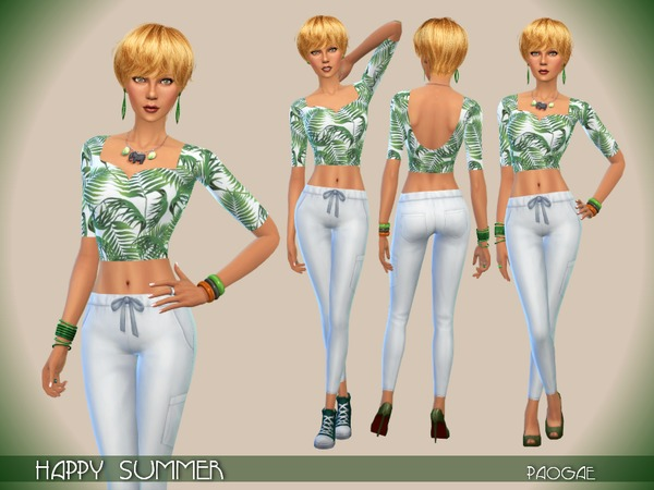 The Sims Resource: Happy Summer by Paogae