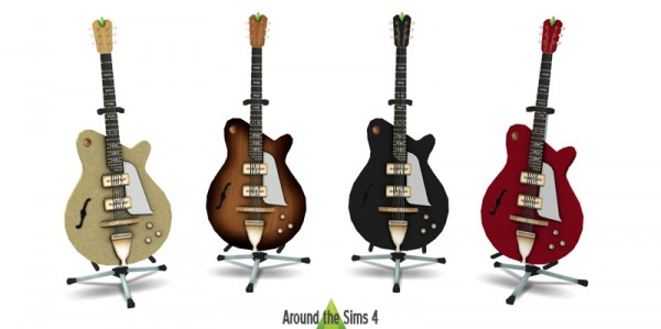 Around The Sims 4: Guitar Players Delight