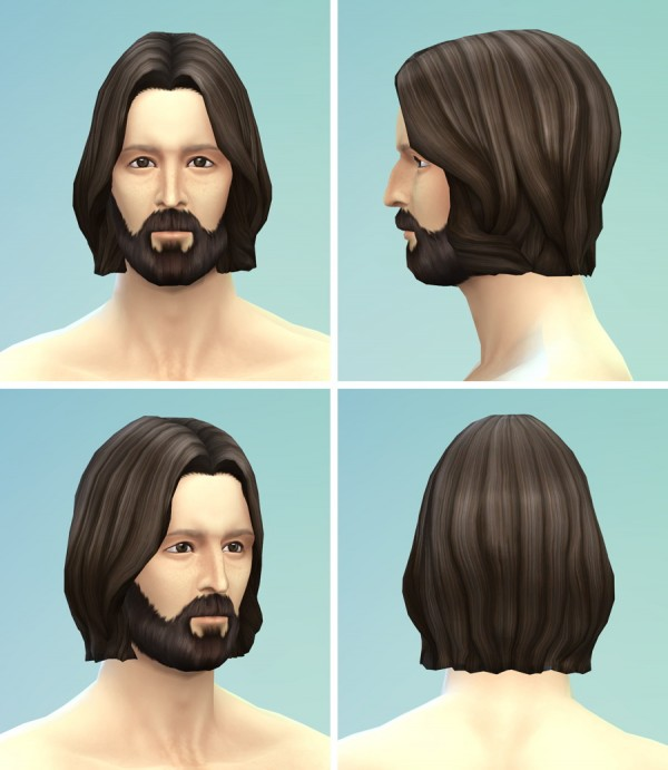 Rusty Nail: Long wavy parted hairstyle