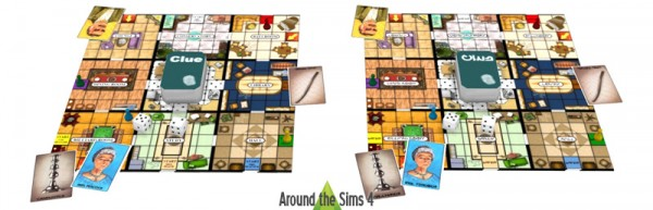 Around The Sims 4: Board Games