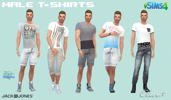 Olesims Male Shirts And T Shirts Sims 4 Downloads