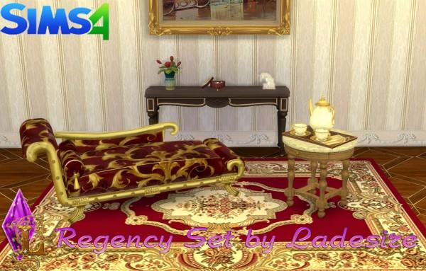 Ladesire Creative Corner: Regency Set