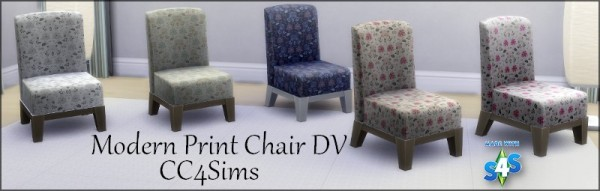 CC4Sims: Modern chair print