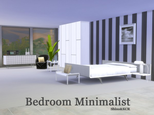 The Sims Resource: Bedroom Minimalist by ShinoKCR