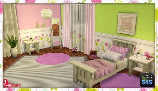 Lintharas Sims 4: Kidsroom Happy World