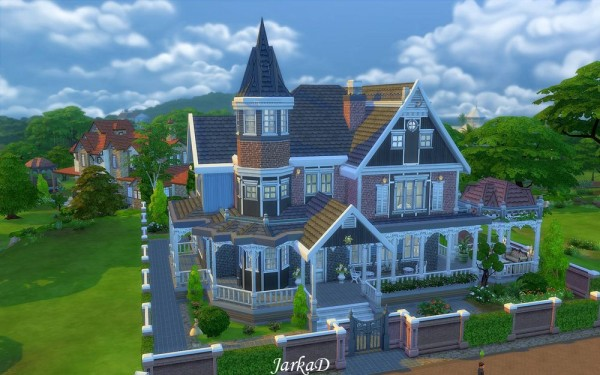 Jarkad Sims 4 Victorian House No 1 Sims 4 Downloads