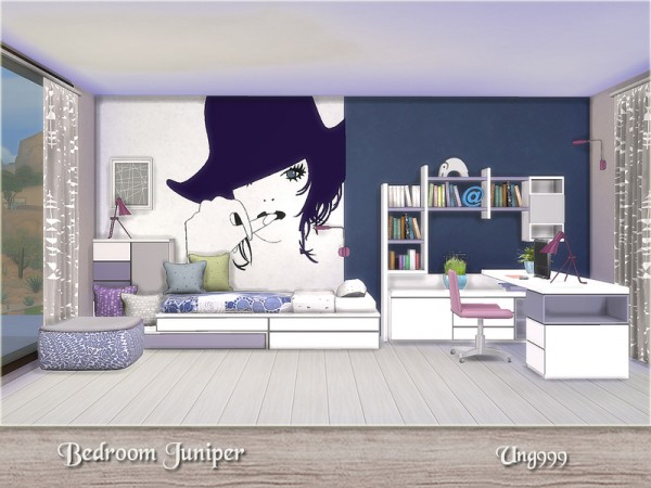 the sims resource bedroom juniper by ung999 sims 4 downloads