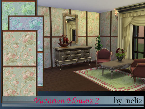 The Sims Resource: Victorian Flowers 2 by Ineliz